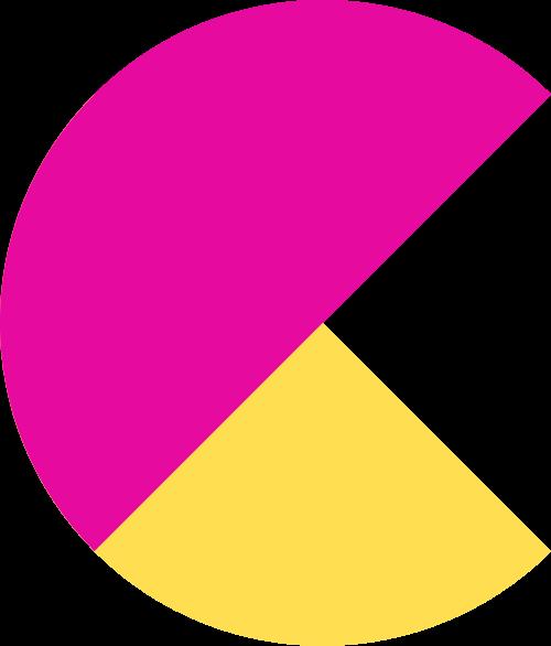 抽象字母C矢量图标矢量logo