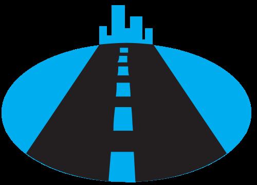 高速道路矢量图标矢量logo