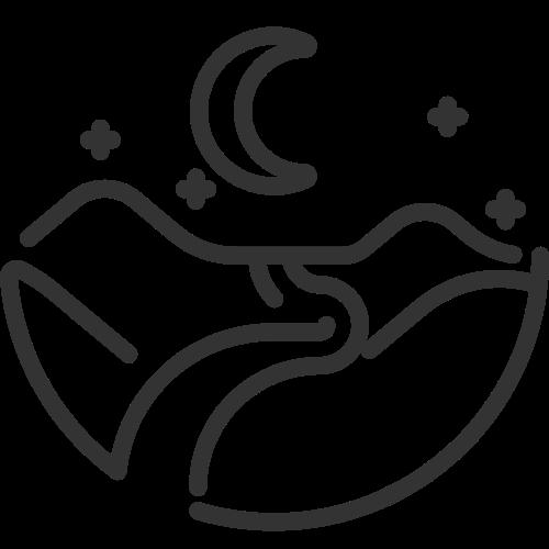 星空月亮矢量logo素材矢量logo