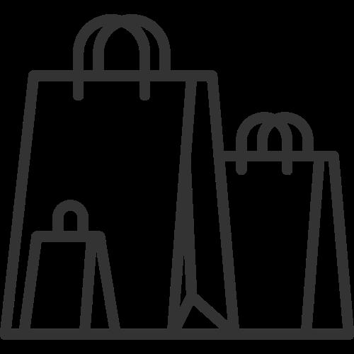 零售购物袋矢量logo素材