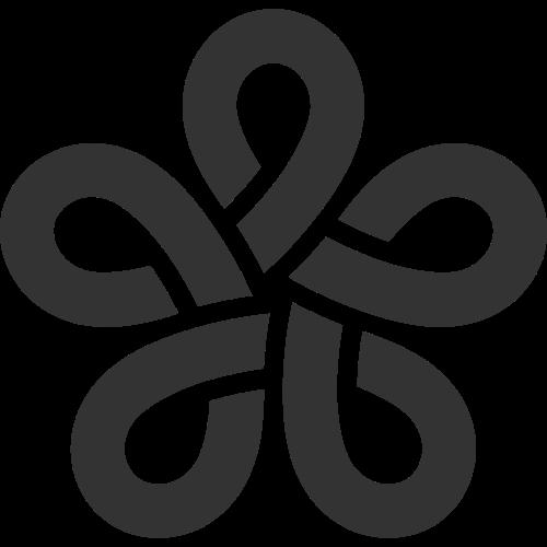 中国结矢量图标矢量logo