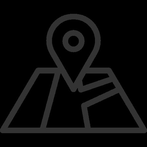 地图位置导航相关logo素材