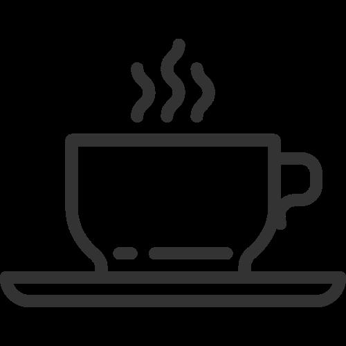 咖啡茶饮料logo图标矢量logo