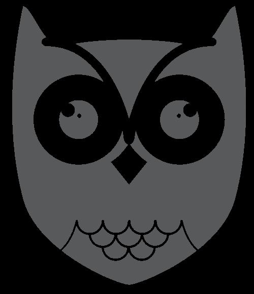 猫头鹰矢量logo素材