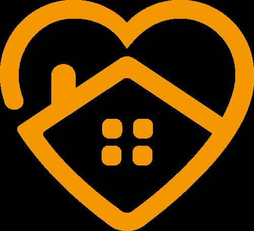 爱心房子矢量LOGO矢量logo