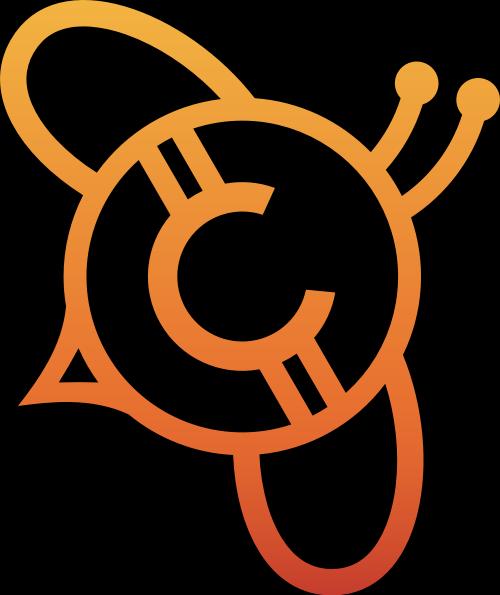 蜜蜂元素LOGO图标矢量logo