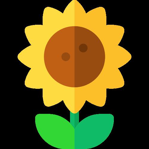 向日葵矢量logo图标矢量logo