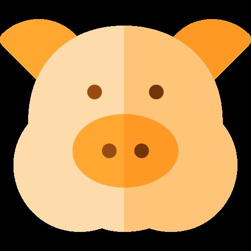 猪头肉食餐饮相关logo图标素材