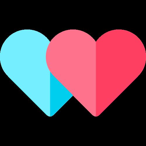 爱心矢量logo图标图片矢量logo