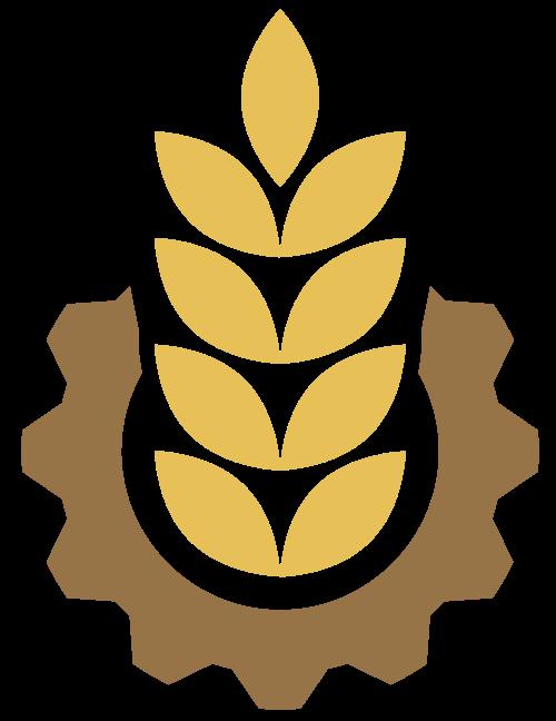 现代化机械农作物相关logo图标