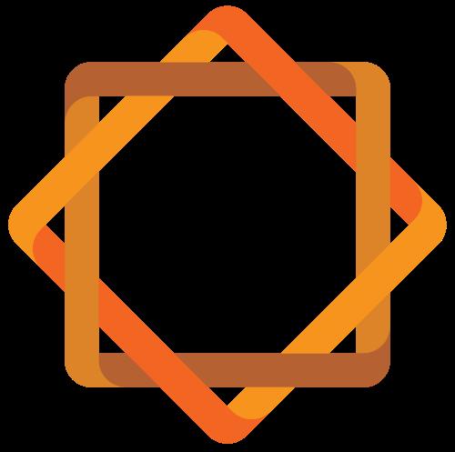 立体几何抽象图形矢量logo图标