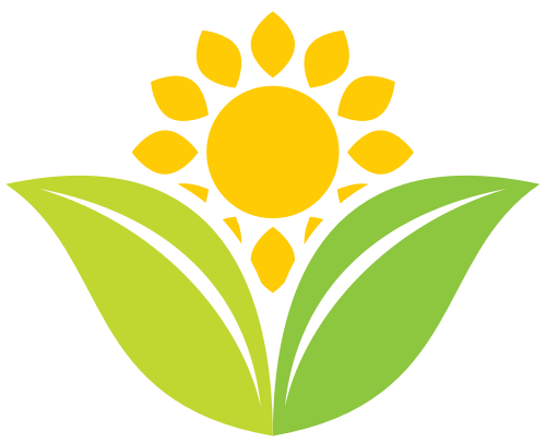 大自然花朵绿叶矢量logo素材矢量logo