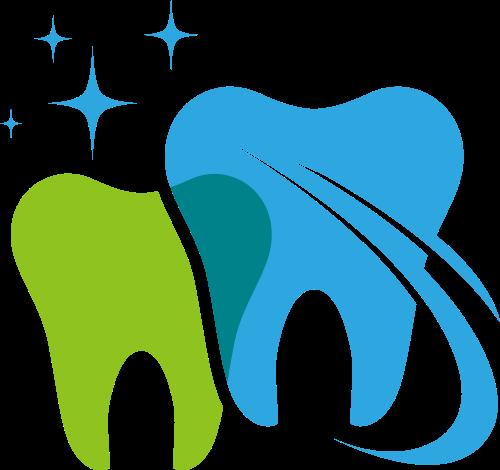 牙齿牙医矢量logo图标矢量logo