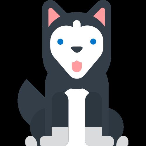 卡通宠物狗矢量logo素材矢量logo