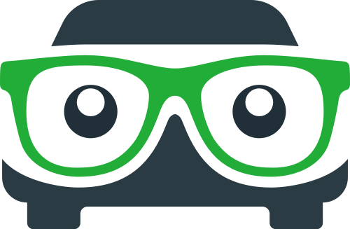 眼睛汽车创意想法矢量logo图标