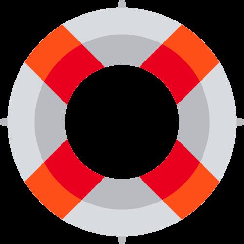 游泳圈救生圈安全相关矢量logo图标矢量logo