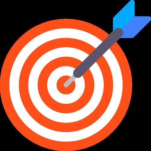 红色目标靶心相关矢量logo图标矢量logo