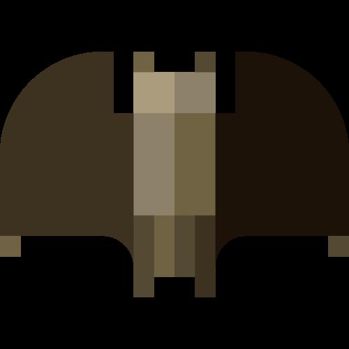 灰色蝙蝠万圣节矢量logo图标矢量logo