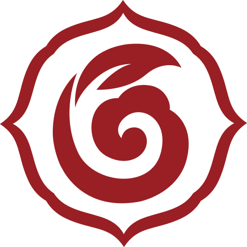 红色养生中国风矢量LOGO素材矢量logo