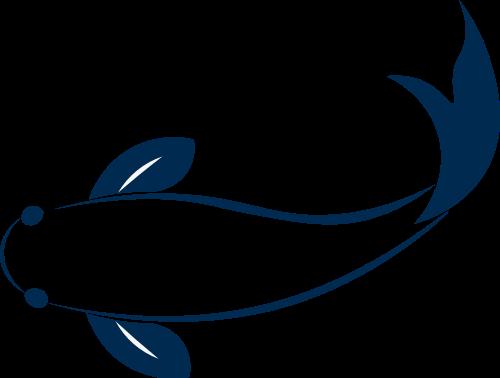 鲤鱼LOGO矢量素材矢量logo