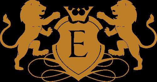 字母E狮子皇冠矢量LOGO图片矢量logo