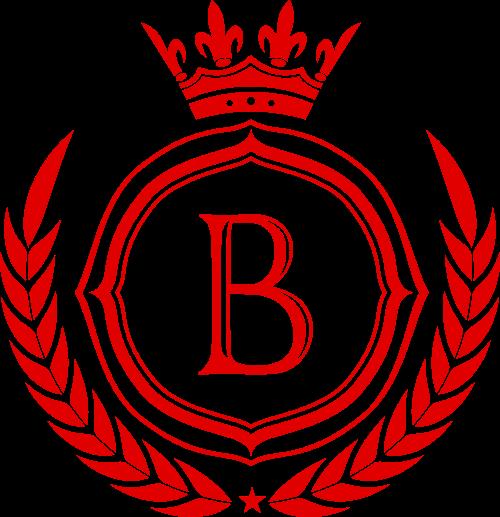 B字母皇冠矢量LOGO素材矢量logo