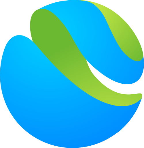 3D立体圆球矢量LOGO素材矢量logo