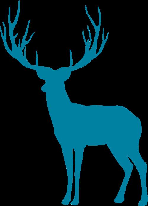 麋鹿矢量LOGO图标矢量logo