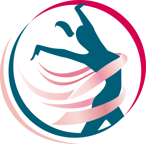 线条彩带人形矢量LOGO素材矢量logo