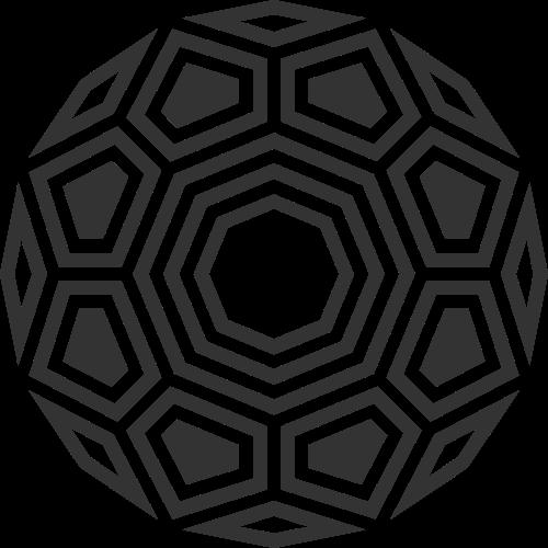 黑色钻石切面矢量logo图标矢量logo
