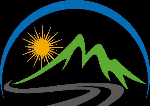 风景绿色环保环境相关矢量logo图标矢量logo
