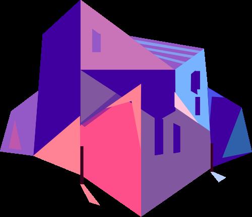 城市景观建筑相关矢量logo图标矢量logo