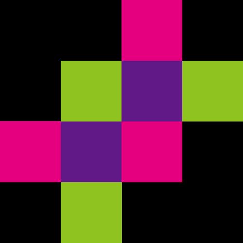 彩色方块几何图案logo图标
