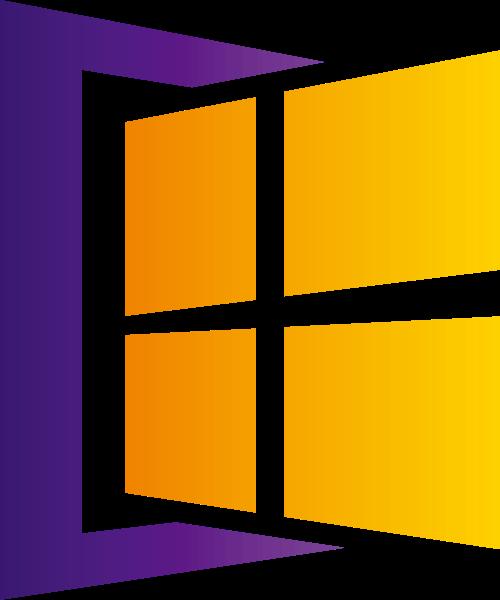渐变窗口互联网相关矢量logo图标矢量logo