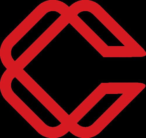 红色投资贸易相关矢量logo图标矢量logo