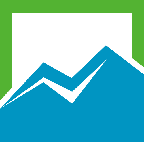 绿色窗口相框相关矢量logo图标矢量logo