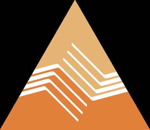 渐变橙色金融相关矢量logo图标矢量logo
