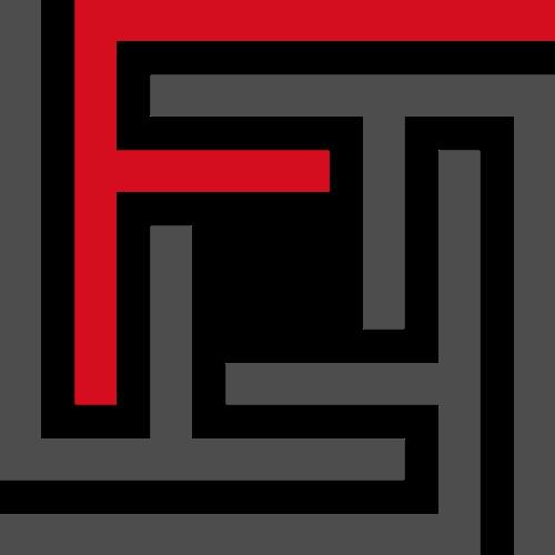 红色灰色码状法律投资相关矢量logo图标