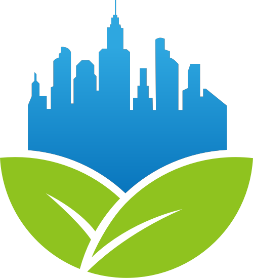 叶子城市生活建筑工业制造相关矢量logo图标矢量logo