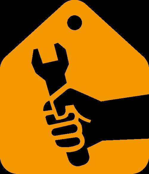 装修家装制造工业水电相关矢量logo图标矢量logo