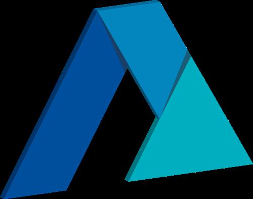 彩色三角综合抽象相关矢量logo图标矢量logo