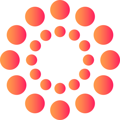 红色抽象渐变创意相关矢量logo图标