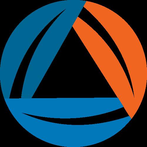 彩色圆形综合矢量logo图标
