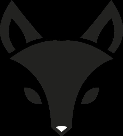 黑色狐狸女性服装相关矢量logo图标矢量logo