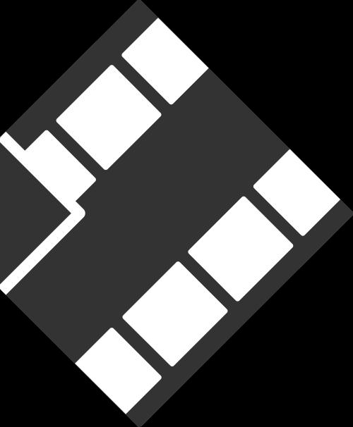 电影黑色立体音乐影视相关矢量logo图标