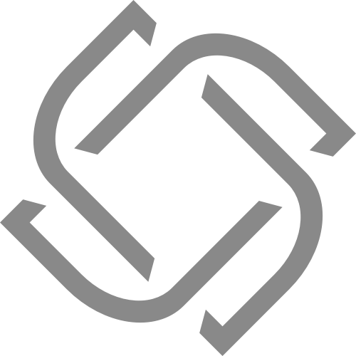 灰色抽象互联网相关矢量logo图标