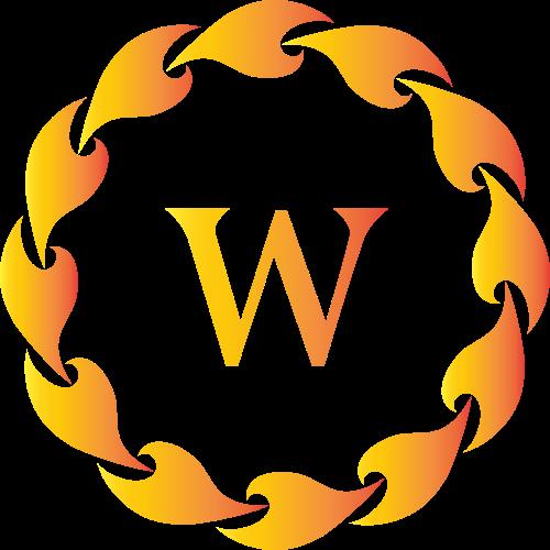 字母W服装鞋子相关矢量logo图标矢量logo