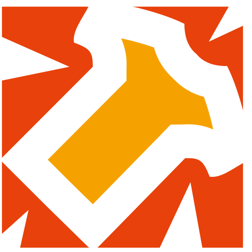 橙色t恤矢量logo图标
