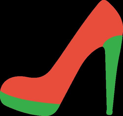 高跟鞋服装女性相关矢量logo图标矢量logo