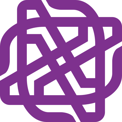 紫色创意设计相关矢量logo图标矢量logo